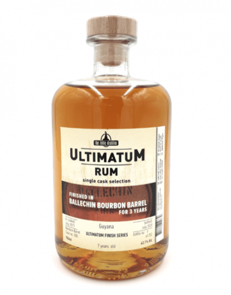 Ultimatum Ballechin bourbon finish