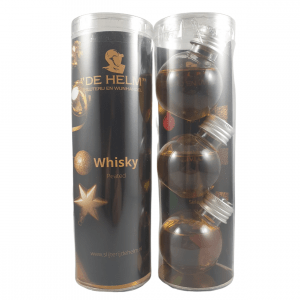 Whisky kerstballen peated